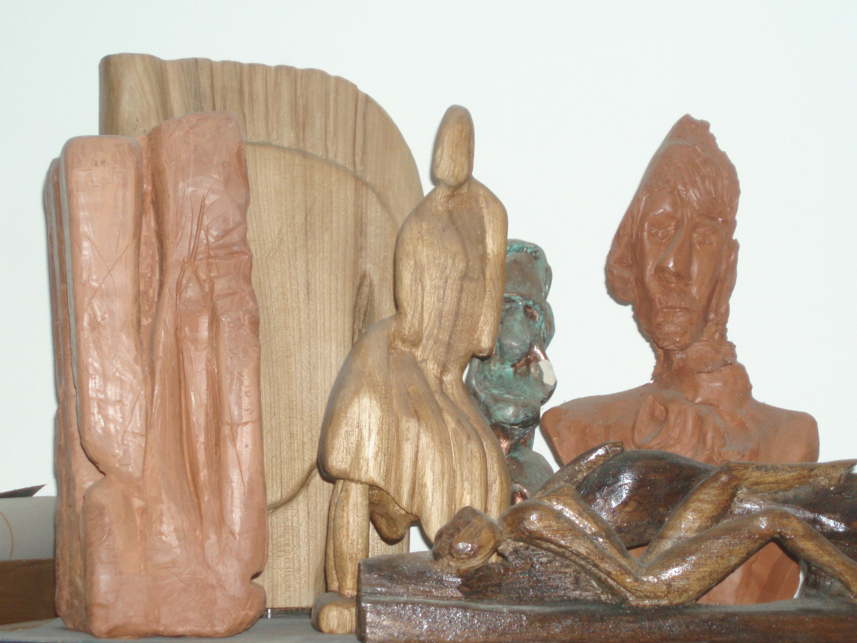 sculptures contemporaines sur bois. Black Bedroom Furniture Sets. Home Design Ideas